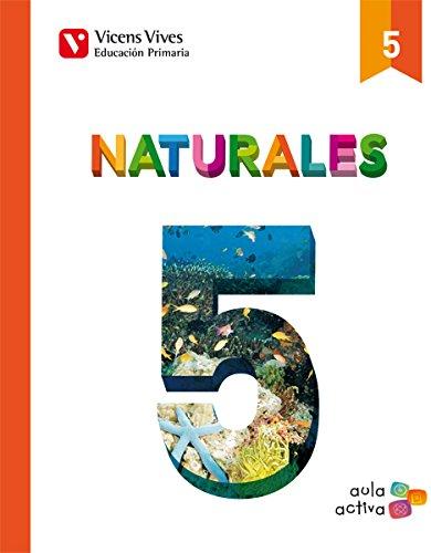 Naturales 5 (aula Activa) - 9788468215044 por Rosabel Casajuana Botines