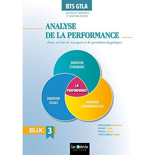 Analyse de la performance d'une activité de transports et de prestations logistiques BTS GTLA Gestion des Transports et Logistique Associée : Bloc 3