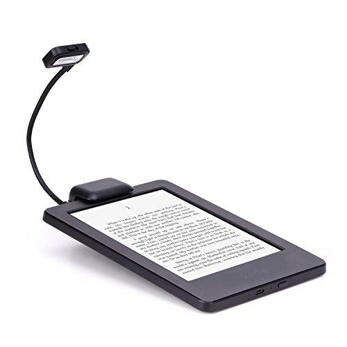 comprare on line MoKo Lampada LED da Lettura, Collo Flessibile 3 LED Clip-On per Amazon Kindle 1 / 2 / 3 / 4 / 5, Kindle Gen 7th, Kindle Touch, Kindle DX/DXG, 6