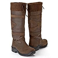 Toggi Canyon Waterproof Long Country Boots Leather Riding Casual