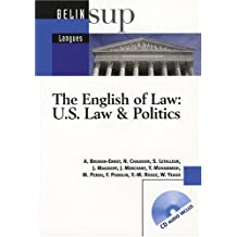 The English of Law: US Law & Politics (1CD audio)