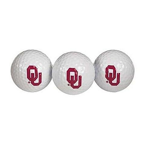 Oklahoma Sooners Golf Ball by Team Effort