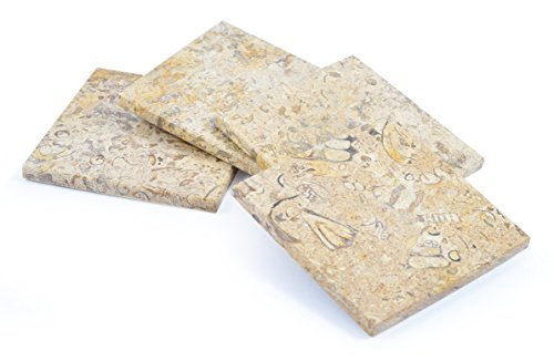 set-of-4-square-marble-coasters-fossilstone