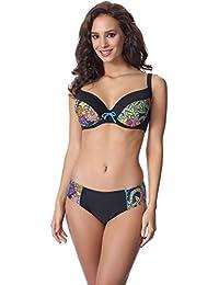 Merry Style Bikini Bañadores Traje de Baño Conjunto Tops Sujetador y Bragas Braguitas Ropa Verano Mujer