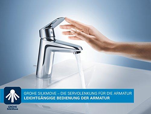 Grohe – Badewannenarmatur, Eurosmart Einhand-Wannenbatterie mit Brausegarnitur - 3