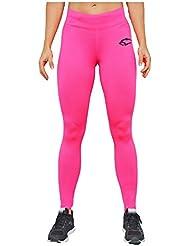 Smilodox Damen Sport Leggings Sun
