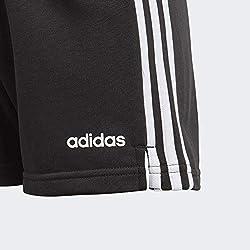 adidas Essentials 3s Short, Shorts Bambina, Black/White, 13-14A