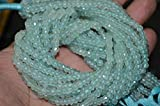 Earth Gems Park Super Fine Quality Gems Jewelry Brand New Aqua Chalcedony,13 inch Strand,4 to 4.5 mm Code:- BF-45452