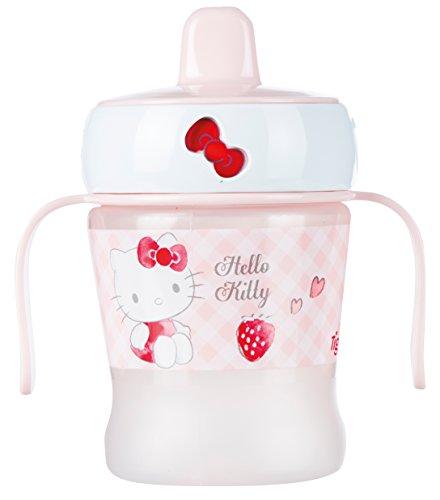 Tigex Tasse Anti-Fuite Caroussel Hello Kitty Rose