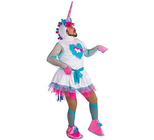 Generique - Witziges Einhorn-Kostüm Einheitsgröße (Einhorn Kostüm Männer)