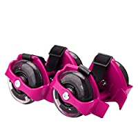 Hot Flash Roller Skate Shoes Scooter Flashing Wheels Toys for Kids - Pink