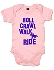 DF, Roll Crawl Walk Ride Horse riding, Body Bébé
