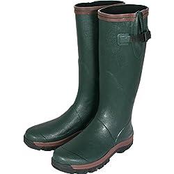 Jack Pyke Shires Wellington Botas Verde tamaño 7