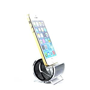 Mobilegear Stylish Docking Station with Charging Cable for Apple iPhone 5 & 6 & 6 Plus - Black