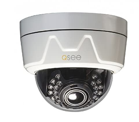 Q-See QD6507D 650TVL/960H Effio Dome Camera with Varifocal Lens and 100 ft Night Vision - White