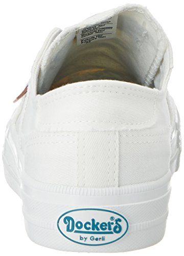 Basses Baskets Weiss By Gerli Femme 40th201790500 Blanc Dockers qv64cg