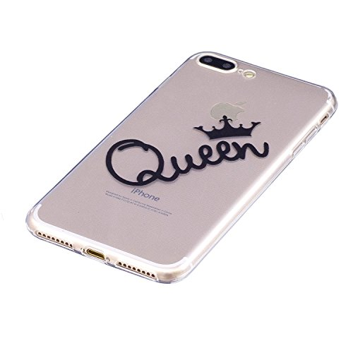 inShang iPhone 6 Plus iPhone 6s Plus custodia cover del cellulare, Anti Slip, ultra sottile e leggero, custodia morbido realizzata in materiale del TPU, frosted shell , conveniente cell phone case per Queen