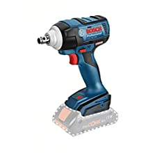 Bosch Professional 06019D8200 Carton 18V System Cordless Impact Wrench GDS 18V-300 (Battery not Included, in Cardboard Box), 18 V, Blue
