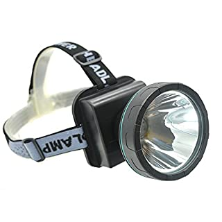 Ambertech Rechargeable Head Torch Super Bright LED Head Lamp With XM-L T6 LED Head Light Best for Outdoor Sports or Household Works