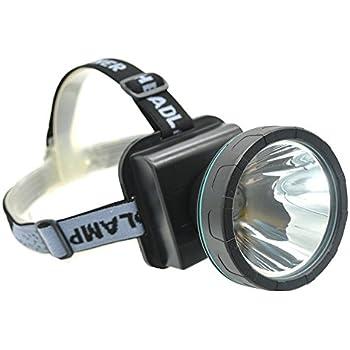 Ambertech Linterna Frontal LED Lámpara de Cabeza Recargable Luz ...