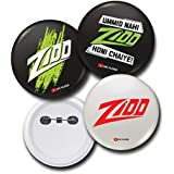 Zidd Pin Badges (Set Of 3)