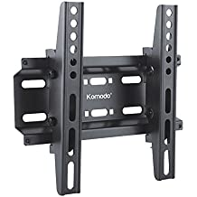 "Komodo Ultra Slim soporte de pared para televisor inclinable para Samsung LED/LCD/3d TV – 14"" a 37"" – VESA 75 mm x 75 mm/VESA 100 mm x 100 mm/VESA 200 mm x 200 mm"