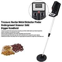 fghdfdhfdgjhh Detector de metales subterráneo profesional Treasure Hunter Buscador de buscadores de oro Sensible Escáner ajustable