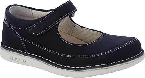Birkenstock June, Sneakers Basses mixte enfant Bleu foncé
