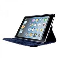 A-1 Qualité d'Apple New iPad Apple iPad Air 2/6 Ipad (2014-15) rotation de 360 ??degrés Bleu marine horizontale et verticale Voir Housse en cuir pour Apple New iPad Apple iPad Air 2/6 Ipad (2014-15) par G4GADGET®