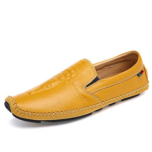 Miyoopark, Mocassini uomo, giallo (Yellow), 42.5