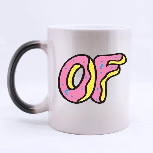 Mensuk Fonts Odd OF Future Decorative Customize Personalized Coffee Mug Novel Gift Mugs Color Change...