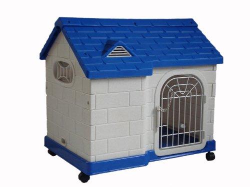 "hundeinfo24.de Zoo-Shop Hundehaus Hundehütte Hundebett""Villa"" 64x46x59cm auch für Katzen!"