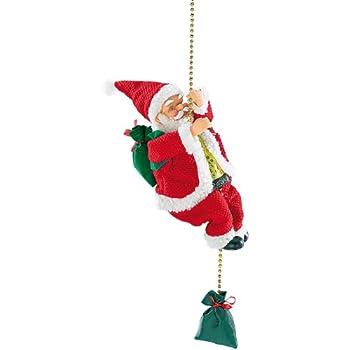 weihnachtsm nner auf leiter 65cm 25cm weihnachts. Black Bedroom Furniture Sets. Home Design Ideas