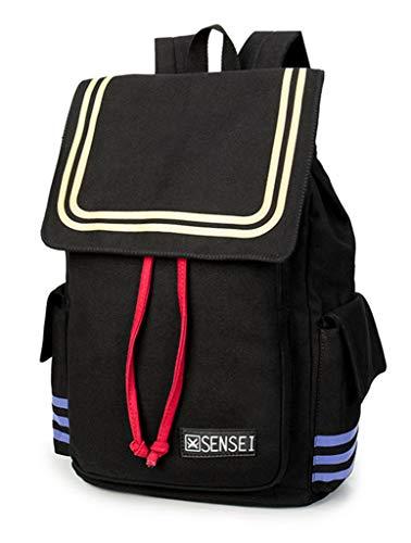 Cosstars Assassination Classroom Anime Cosplay Rucksack Canvas Backpack Drawstring Schultasche Büchertasche Daypack -