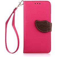HTC One M7 Custodia,Sumin® Portafoglio TPU cuoio