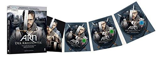 Arn - Der Kreuzritter (Limited Edition) [3 Blu-ray-Set] (Digipack im geprägten Schuber mit Kaltfolien-Kaschierung): Alle Infos bei Amazon