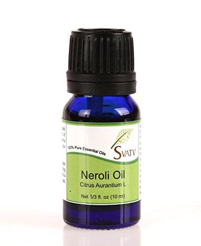 SVATV Neroli (Citrus Aurantium L) Ätherisches Öl 10 ml (1/3 oz) 100% rein, unverdünnt, Therapeutic Grade (L ätherisches öl)