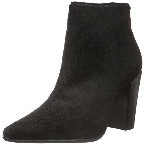 Bronx Damen Americana Kurzschaft Stiefel, Schwarz (Black 01), 38 EU (5UK) (High Bronx Heels Leder)