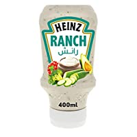 Heinz Ranch Dressing, Top Down Squeezy Bottle, 400ml