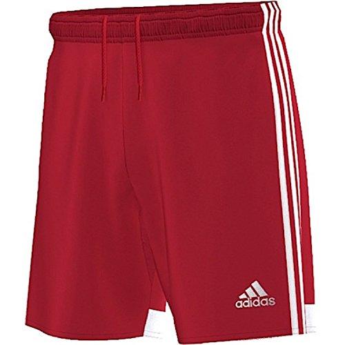 Adidas regi 14sho wb - pantaloncini da uomo, uomo, rosso/bianco, 140