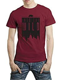 FUNKYcLOSET - Into The Wild T-Shirt - Cotton T-shirt Casual T-Shirt | T Shirt Available In Multi-Color