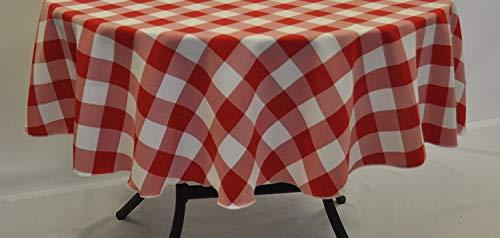 Jenny and Joseph 178cm Round PVC Tablecloth