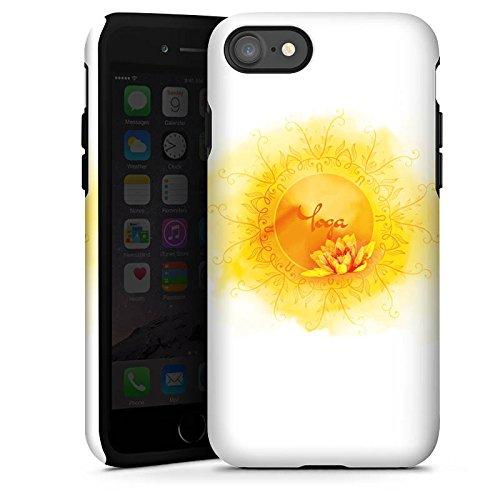 Apple iPhone 5c Silikon Hülle Case Schutzhülle Yoga Sport Hobby Tough Case glänzend