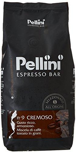 Pellini Caffè Grain de Café N°9 Cremoso 1 kg