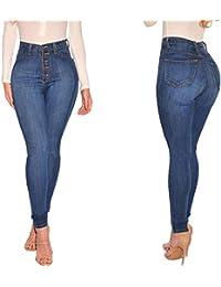 749b91d9cef9 Damen Jeans High Waist, Holeider Frauen Jeans Denim Stretch Slim Skinny Sexy  Jeanshose Hosen Mode