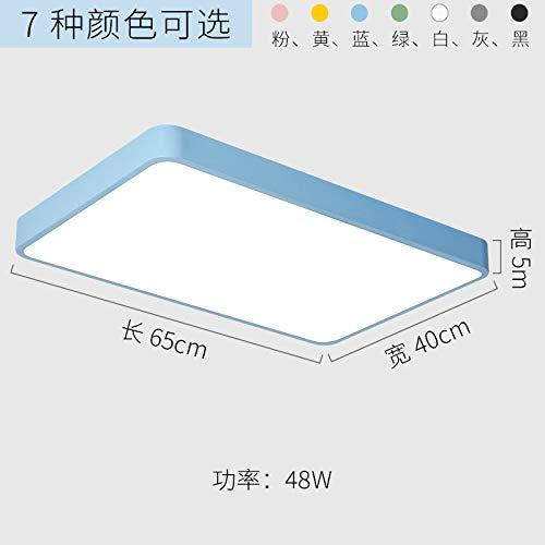 Xenon-soffitten-lampe (Schlafzimmer Balkon Lampe kreative Wohnzimmerlampe LED-Lampen 65cm blau-weißes Licht)