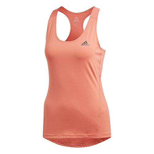 adidas Damen Alphaskin Sport Tanktop, Trace Scarlet, S (Tennis Adidas Sport-shirt)
