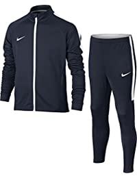 Nike Y NK Dry Acdmy TRK Suit K Chándal para hombre, Azul (Obsidian / Obsidian / White / White), L