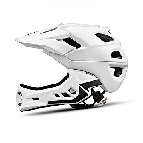 CXQBYNN Fahrradhelm, Sport Outdoor Männer und Frauen Mountainbike Reiten Klettern Sicherheit Rock Helm (Color : White)