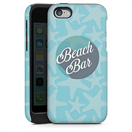 Apple iPhone 4 Housse Étui Silicone Coque Protection Plage Vacances Été Cas Tough brillant